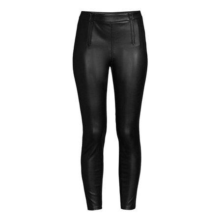 Sofia Vergara - Sofia Jeans by Sofia Vergara Women's Rosa Curvy High-Waist Pleather Pants - Walmart.com - Walmart.com
