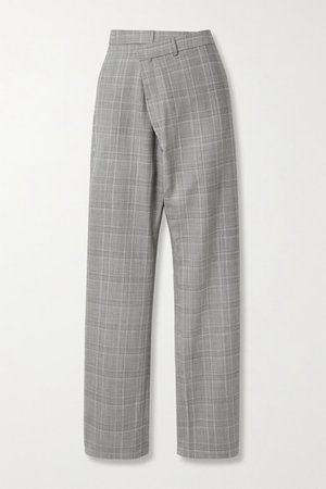 R13 | Checked wool-blend tapered pants | NET-A-PORTER.COM