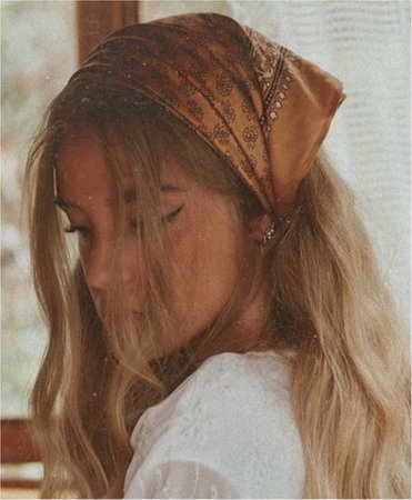 Boho Bandana Hair