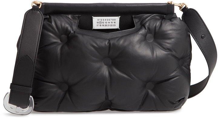Medium Glam Slam Leather Shoulder Bag
