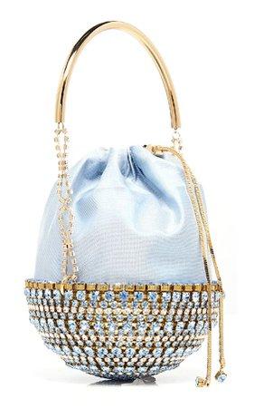 Rosantica Kingham Crystal Top Handle Bag