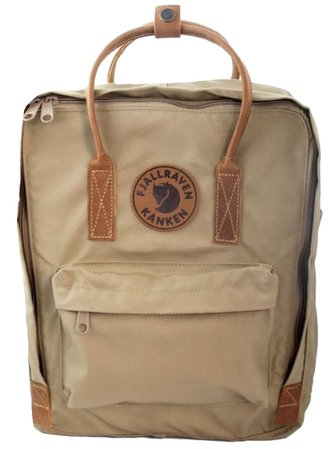 tan kanken bag