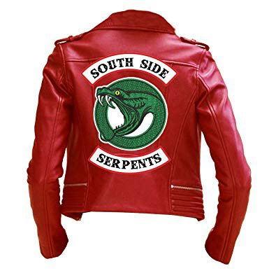 "Riverdale ""Cheryl Blossom"" Southside Serpents Leather Jacket"