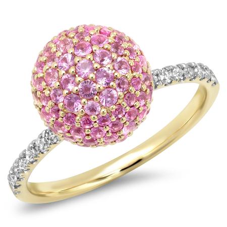 Colored Stone Disco Ball Ring – Stephanie Gottlieb Fine Jewelry