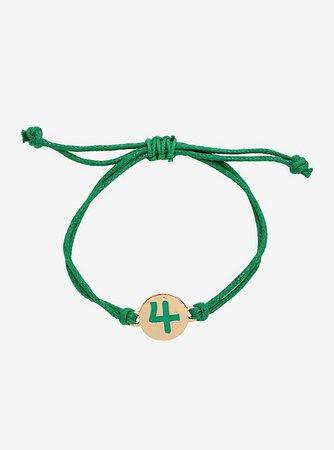 Sailor Moon Sailor Jupiter Cord Bracelet