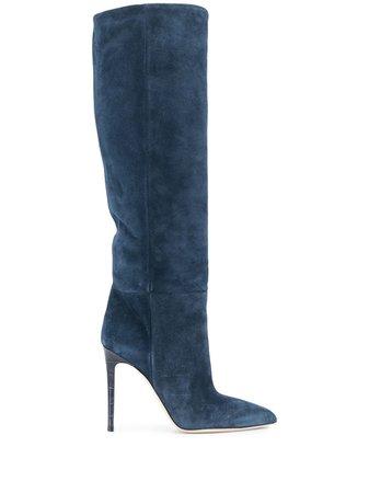 Paris Texas knee-high Stiletto Boots - Farfetch
