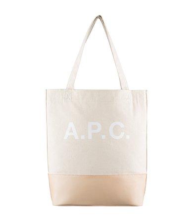 A.P.C. Axel shopping bag