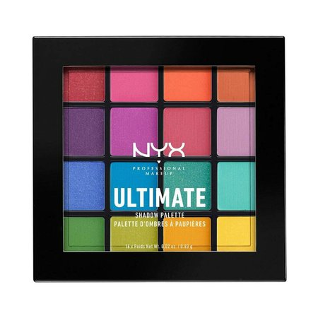 NYX PROFESSIONAL MAKEUP Ultimate Shadow Palette Brights   Watsons