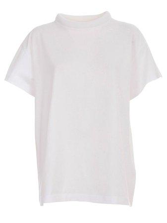 white turtleneck tshirt