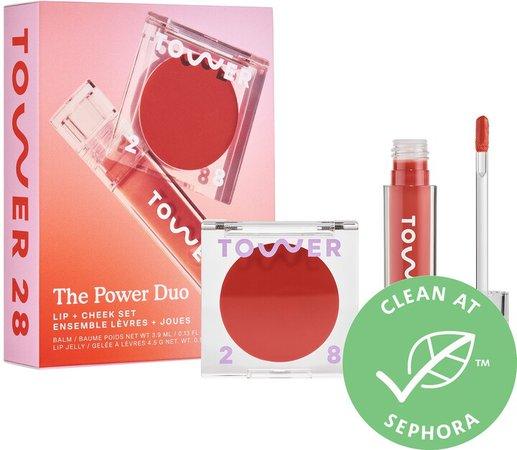 Power Lip + Cheek Duo Set