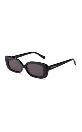 Zou Bisou Square-Frame Acetate Sunglasses By Velvet Canyon | Moda Operandi