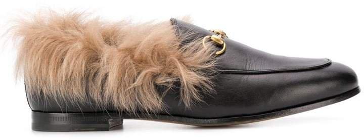 Pre-Owned horsebit appliqué loafers