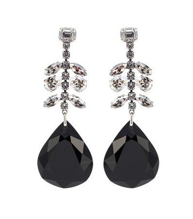 Peace Pop embellished drop earrings
