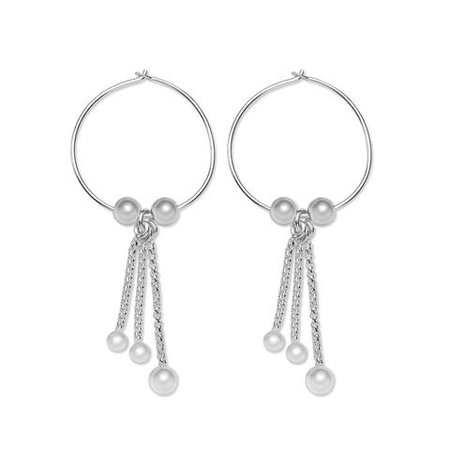 Lizzy James Jewelry Orbit Sterling Silver Earrings