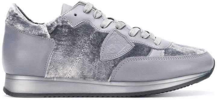 Paris glitter sneakers