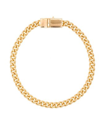 Tom Wood curb chain clasp bracelet
