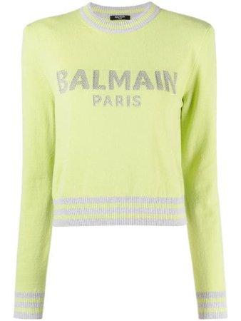 Balmain Logo Jumper - Farfetch