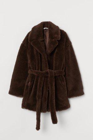 Wool Coat - Beige