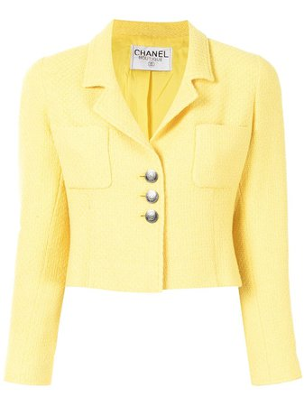 Chanel, cropped buttoned jacket