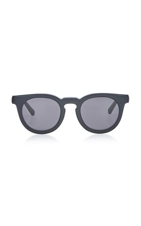 Loewe Sunglasses Oversized Round Acetate Sunglasses