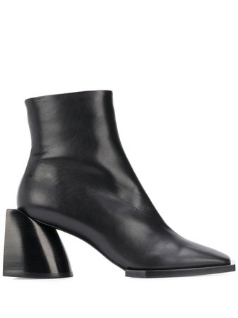 Nº21 Square Toe Ankle Boots - Farfetch