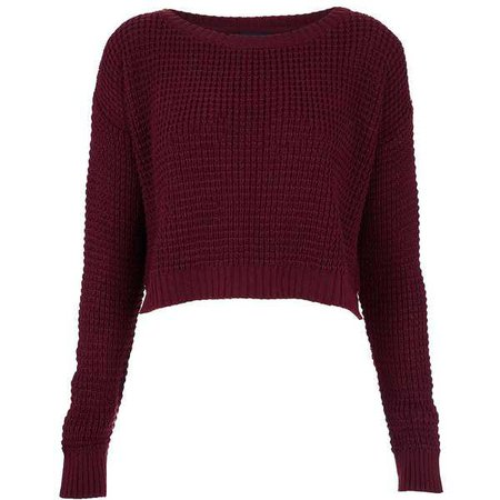Autumn Sweater (Maroon)
