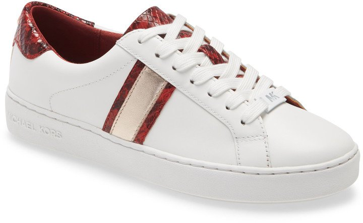 Irving Stripe Lace-Up Sneaker