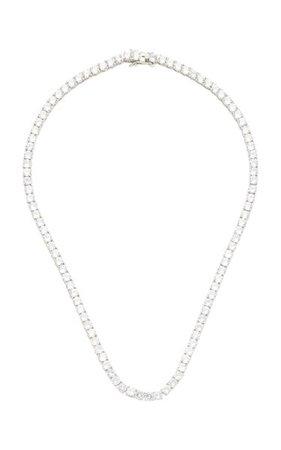 Gold-Tone And Crystal Necklace By Fallon   Moda Operandi