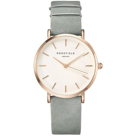 Light Grey & Rose Gold Watch