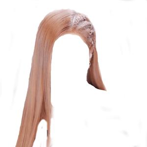 Blonde Hair PNG Tiny Braids [Rose Kill This Love Hair]