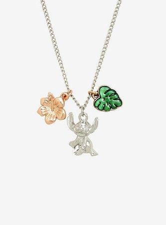 Disney Lilo & Stitch Dainty Charm Necklace