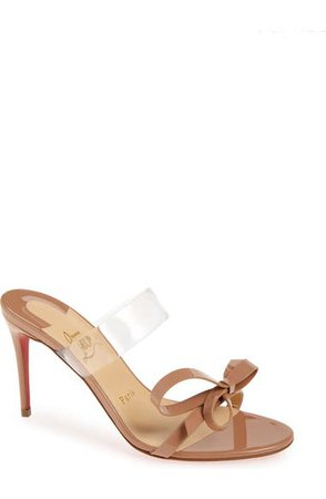 Christian Louboutin Just Nodo Bow Sandal (Women) | Nordstrom