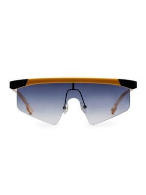 Le Specs Luxe - 58MM Engineer Sheild Sunglasses