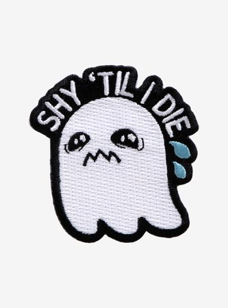Shy 'Til I Die Ghost Patch
