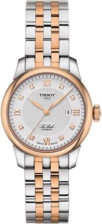 Le Locle Automatic Diamond Bracelet Watch, 29mm