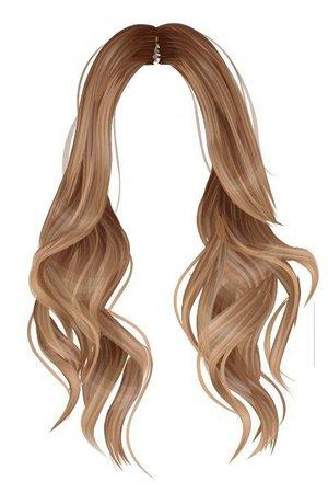 Wavy Hair Art