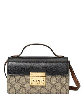 Gucci Padlock mini bag black 65268396GAG - Farfetch