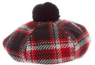 red plaid beret - Google Search