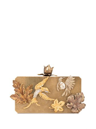 Oscar De La Renta, Lovebird Clutch Bag