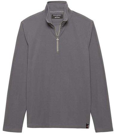 Polartec® Power Grid® Half-Zip Sweatshirt