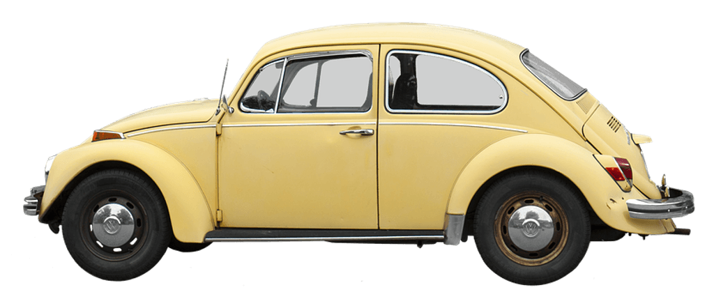 vw volkswagen beatle car retro yellow niche moodboard...