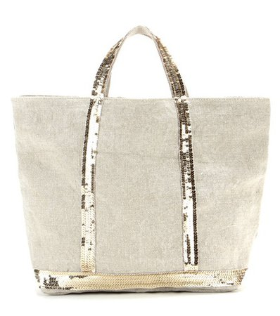 Cabas Medium linen shopper