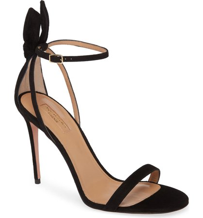 Aquazzura Bow Tie Stiletto Sandal (Women) | Nordstrom