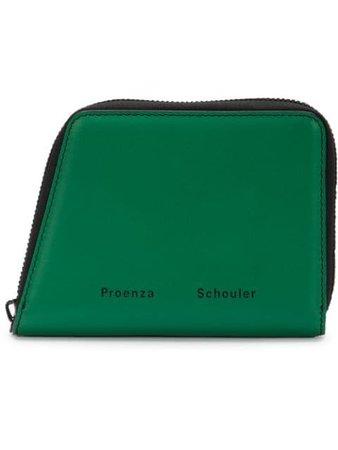 Proenza Schouler Trapeze Zip Wallet black S00142C192F - Farfetch