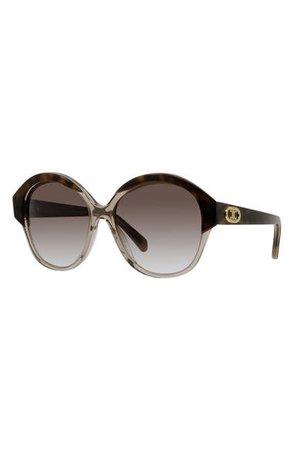 CELINE 61mm Gradient Round Sunglasses | Nordstrom