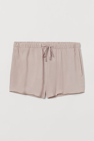 Pull-on Shorts - Pink