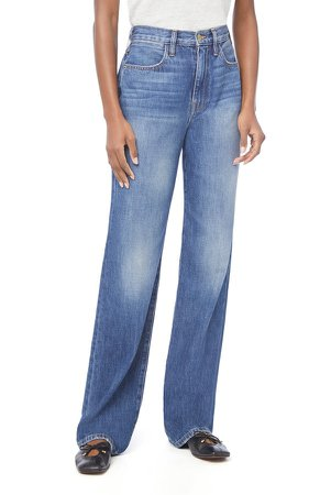 Le Jane Nonstretch High Waist Wide Leg Jeans