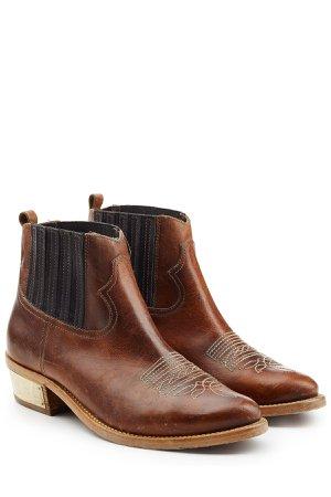 Brielle Leather Ankle Boots Gr. EU 40