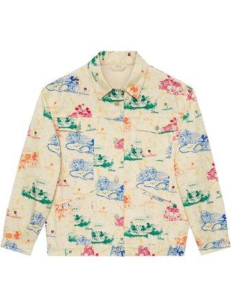 Gucci X Disney Mickey And Minnie Jacket Ss20   Farfetch.com