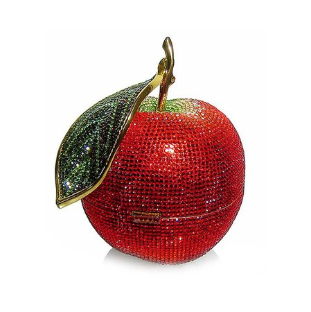Judith Leiber Apple Purse